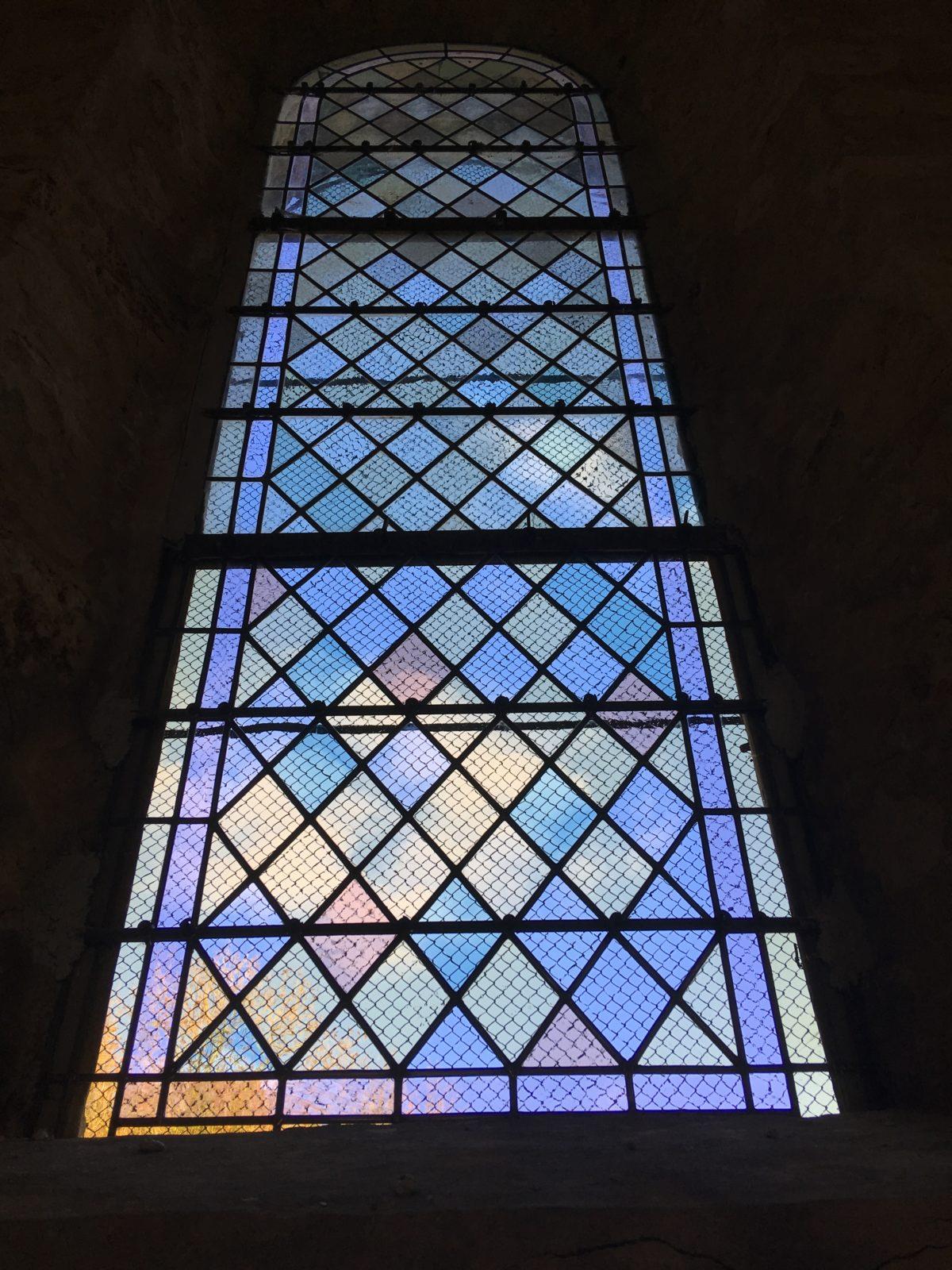 Restauration vitrail église Saint-Yon